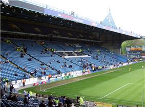 The South Stand at Sheffield Wednesday's Hillsborough Stadium