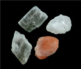 Himalayan rock salt crystals