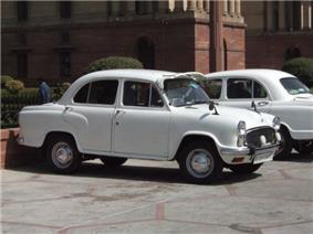 Hindustan Ambassador.