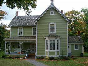 Exterior view of Bethune House