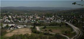 Hollidaysburg skyline