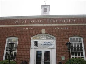 US Post Office-Homer