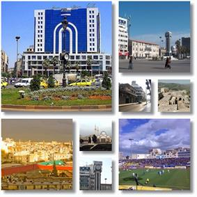 Homs city landmarks City centre and the Old Clock Tower• New Clock Tower Square• Dablan Street• Krak des Chevaliers • Khalid ibn al-Walid Stadium• Khalid ibn al-Walid Mosque• New Clock Tower• City landscape from Rooftops