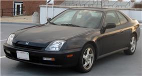 Fifth generation Honda Prelude.