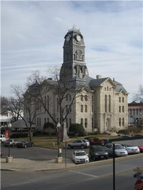 Hood County Courthouse in 2008