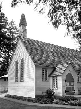 Exterior view of Christ Church
