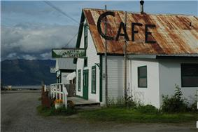 Hope, a former gold-mining town, is now a popular weekend retreat for Anchorage residents.