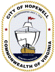 Official seal of Hopewell, Virginia