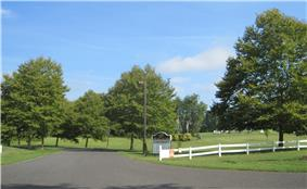 Entrance to the Horse Park of New Jersey
