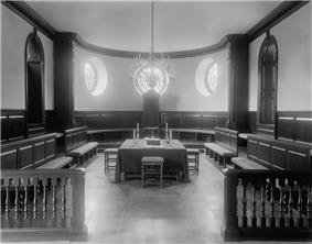 Chamber of House of Burgesses