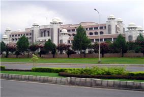 Prime Minister's secretariat in Islamabad