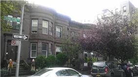 Houses at 216-264 Ovington Ave.