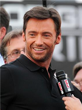 Photo of Hugh Jackman at the X-Men Origins: Wolverine premiere in 2009