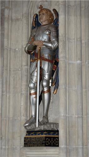 Hugh Trenchard memorial in Salisbury Cathedral.jpg