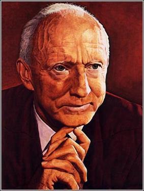 Justice Hugo Black portrait