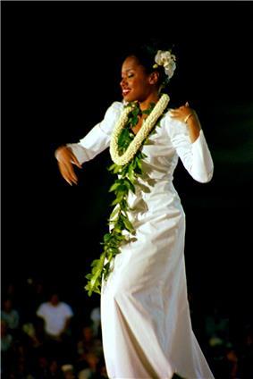 dancer in white dress