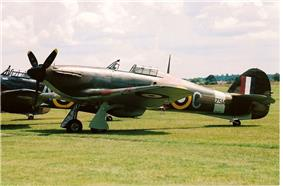 Hawker Hurricane Mk IIB Z5140