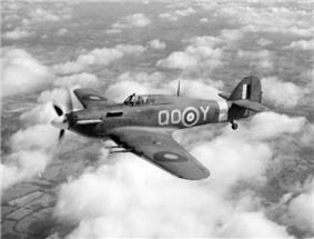 Hurricane Mk IIC BD867 of 3 Sqn RAF, 1942
