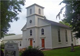 Reformed Dutch Church, Parsonage and Lecture Hall