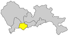 Location within Shenzhen City