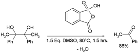 Oxidative cleavage of vicinal diols