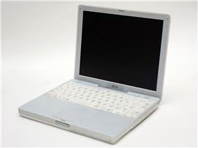 The second-generation iBook (12.1 in)