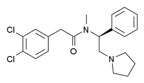 Chemical structure of ICI-199441.