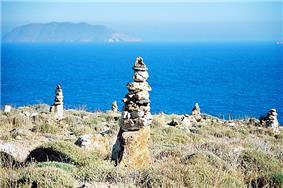 Anafi hillside