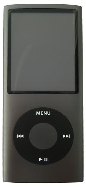 4th generation iPod Nano (black model pictured).