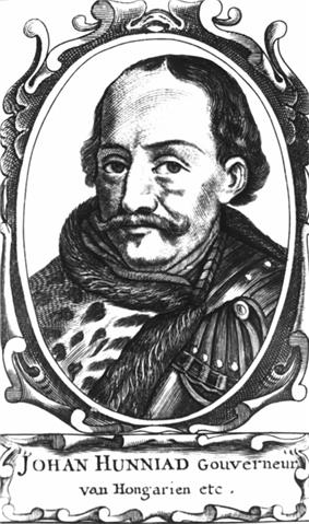 Ornate, oval drawing of mustachioed man