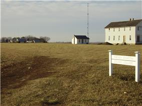 Icarian colony site near Corning