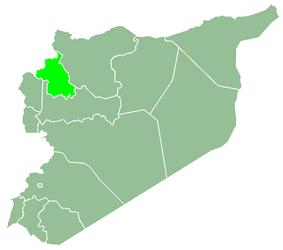 Idlib Governorate within Syria