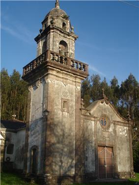 Parish church of San Xurxo de Moeche.