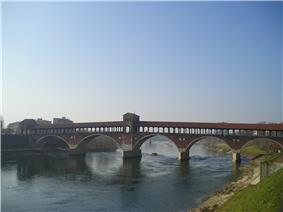 Full-view photograph of the bridge