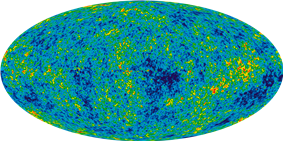 9-year WMAP image (2012) of the CMB.
