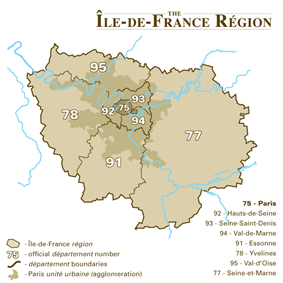 Ferrières-en-Brie is located in Île-de-France (region)