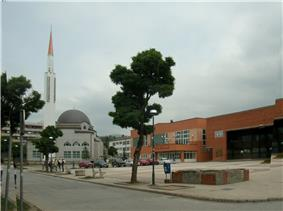 View of the center of Ilijaš.