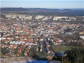 Ilmenau in winter