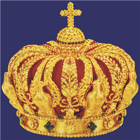 Imperial Crown of Napoleon III. (Reproduction by Abeler, Wuppertal).png
