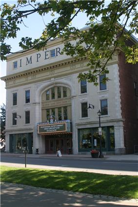 Front facade of the Imperial / Bi-Capitol Theatre
