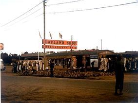 Lapland Shop in Inari in 1975