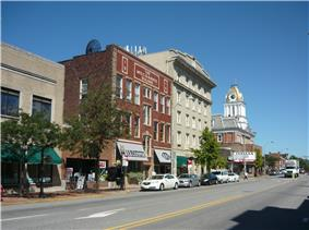 Downtown Indiana Historic District