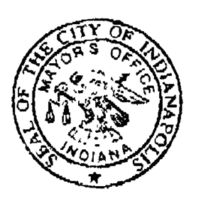 Official seal of Indianapolis, Indiana