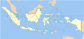 Location of the Special Region of Yogyakarta in Indonesia
