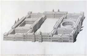 Ingo Jones plan for a new palace at Whitehall 1638.jpg