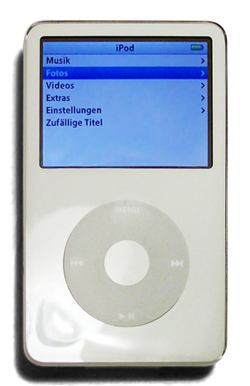 5th generation iPod.