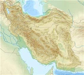 Bazman is located in Iran