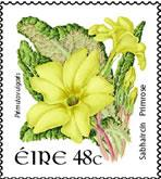 Éire as seen on the country name on current Irish postage stamps.