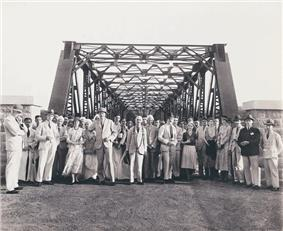 View of Iritty Bridge built in 1933