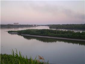 View of the Irtysh River